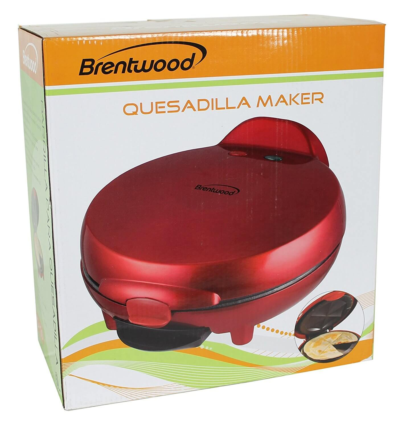 Brentwood TS-120 Appliances Quesadilla Maker