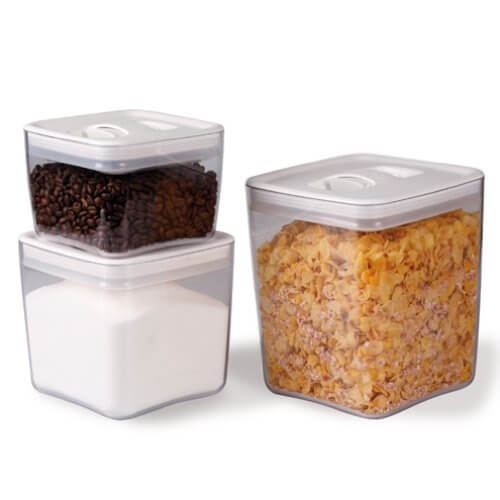 ClickClack Cube Storage Container Set of 3