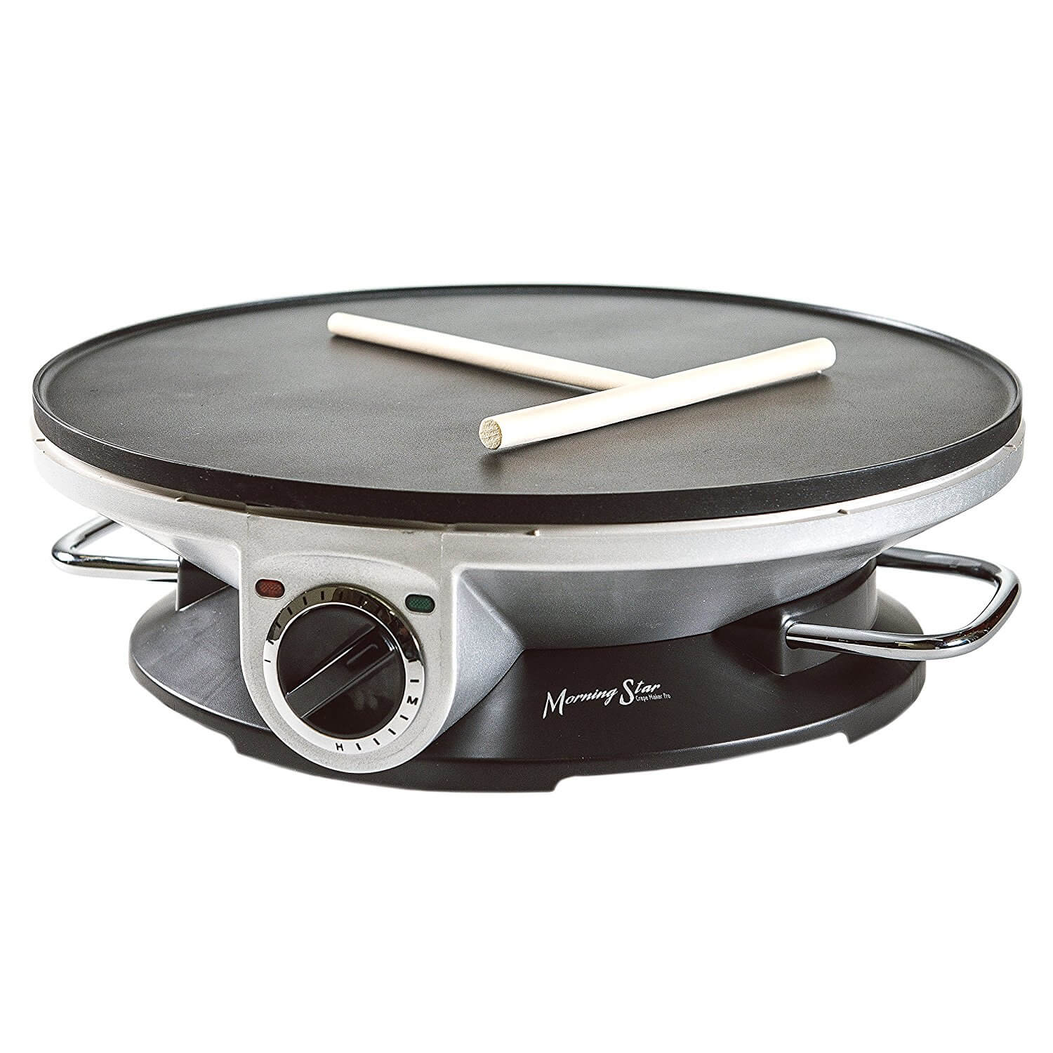 Morning Star - Crepe Maker Pro - 13 Inch Crepe Maker & Electric Griddle
