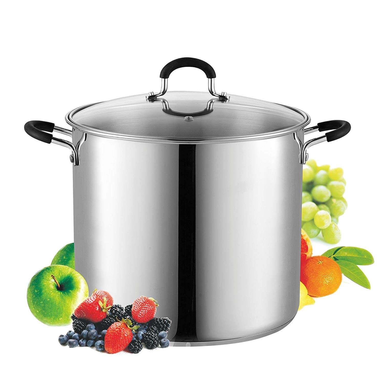 Cook N Home 12 Quart Stainless Steel Stockpot