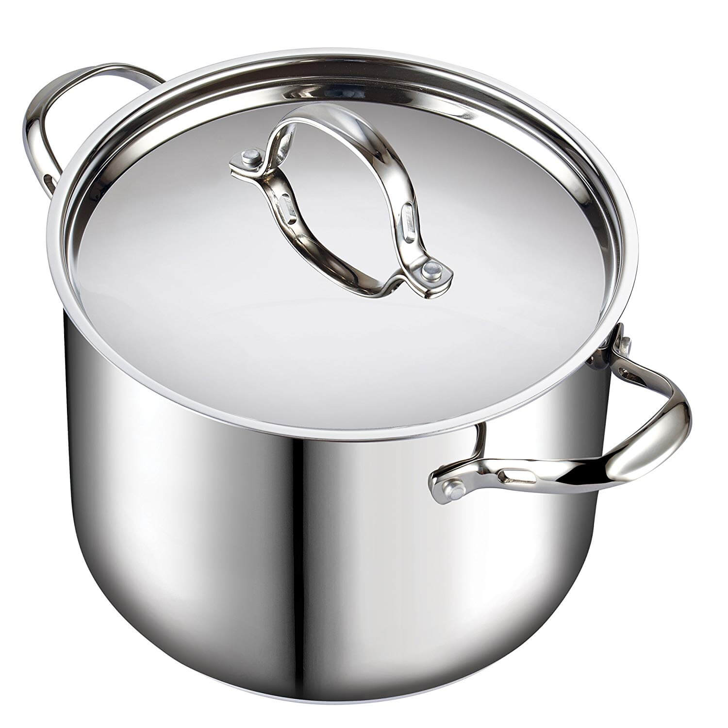Cooks Standard 12-Quart Classic Stainless Steel Stockpot