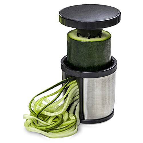Hand Held Spiralizer Vegetable Slicer by So Nourished