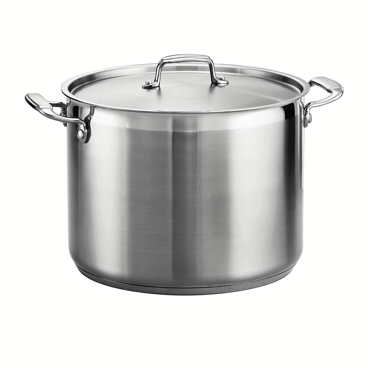 Tramontina 80120 001DS Tramontina Gourmet Stainless Steel Covered Stock Pot