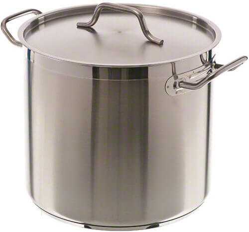 Update International (SPS-16) Induction Ready Stainless Steel Stock Pot