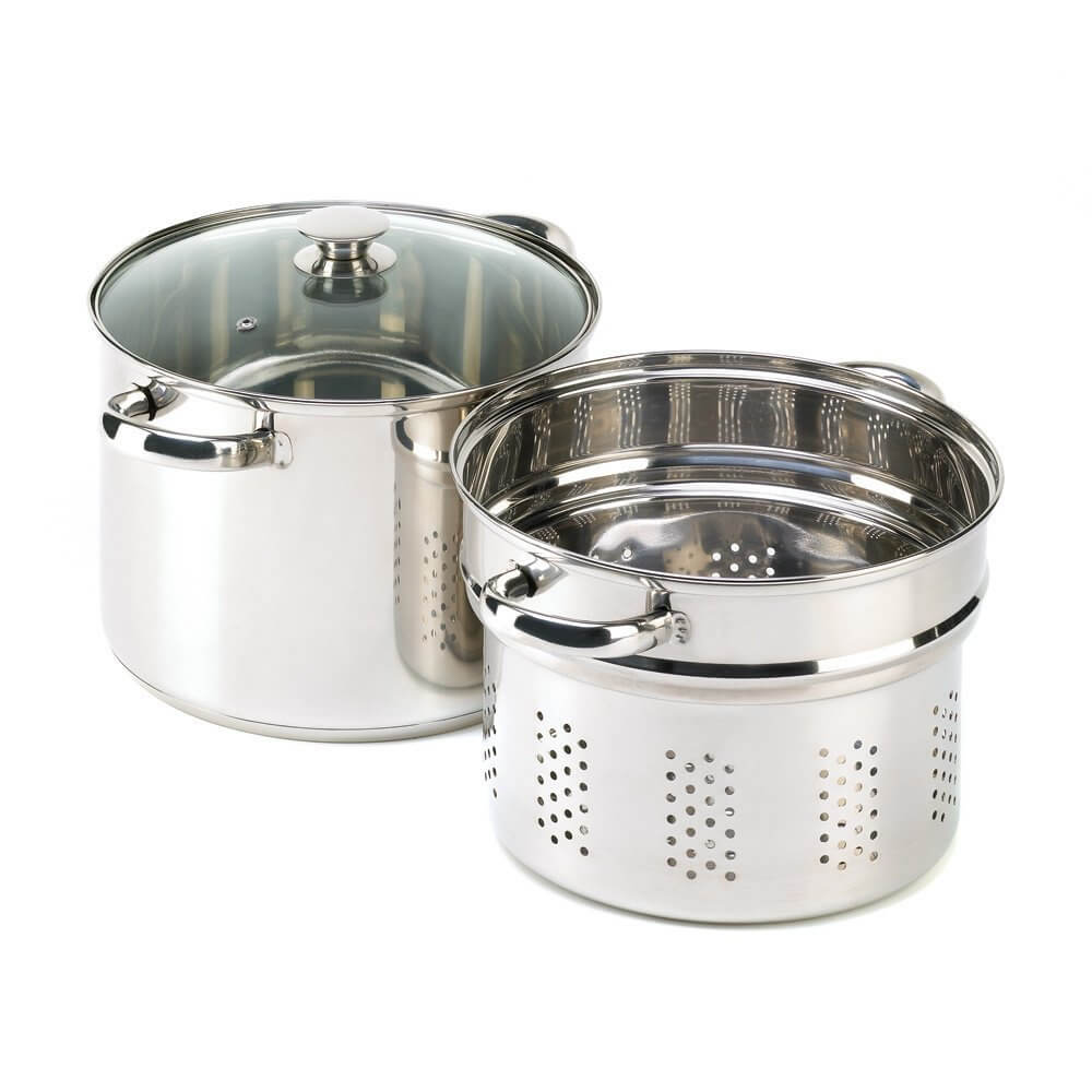 VERDUGO GIFT Stainless Pasta Cooker Stock Pot