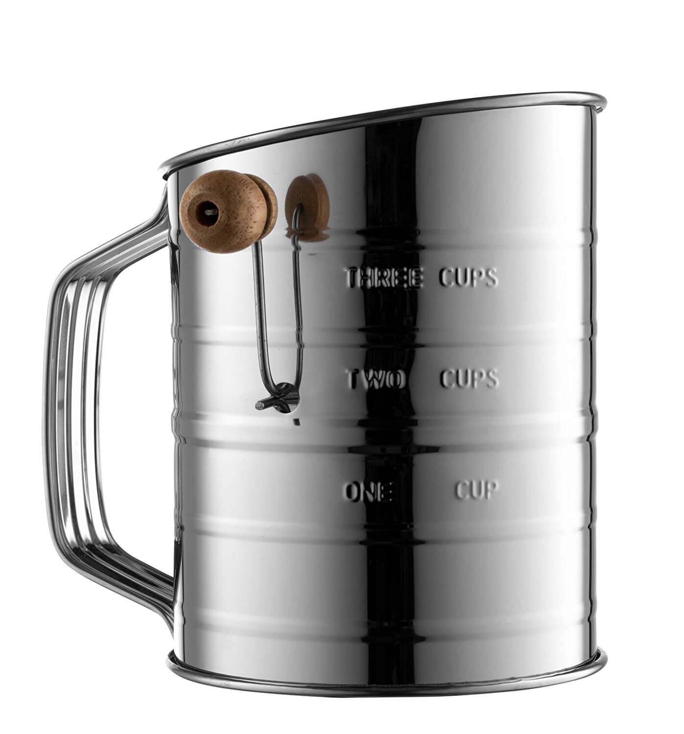 Bellemain Stainless Steel 3 Cup Flour Sifter (A-)