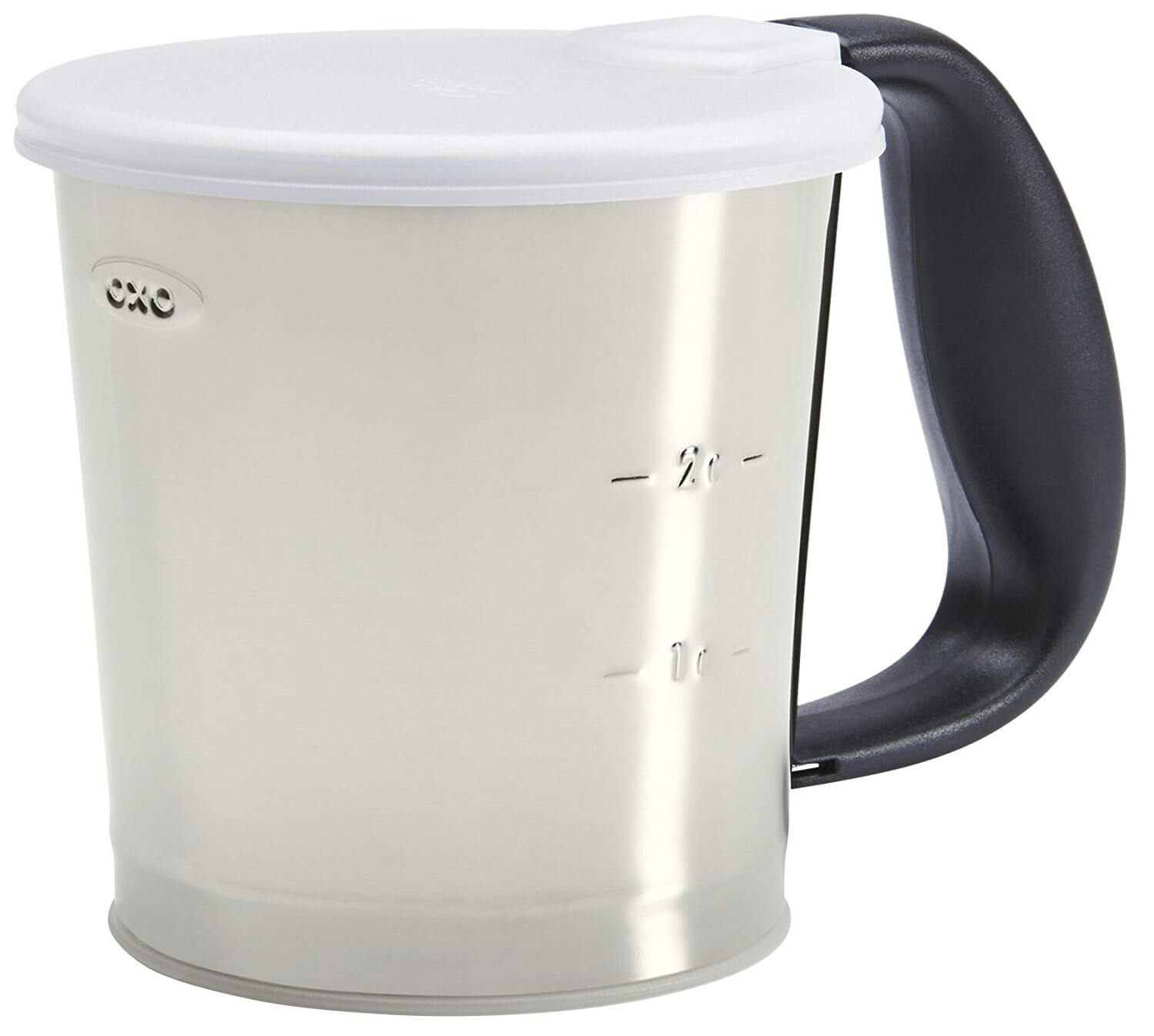OXO Good Grips 3 Cup Stainless Steel Flour Sifter (A)