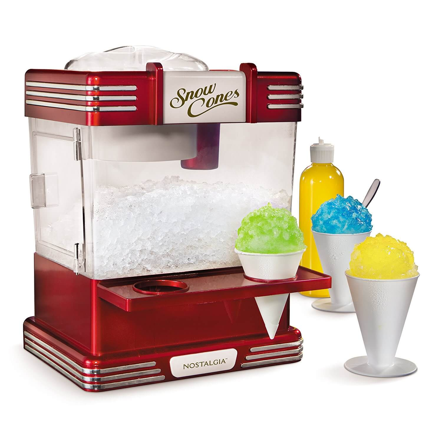 8.	Nostalgia RSM602 Retro Snow Cone Maker