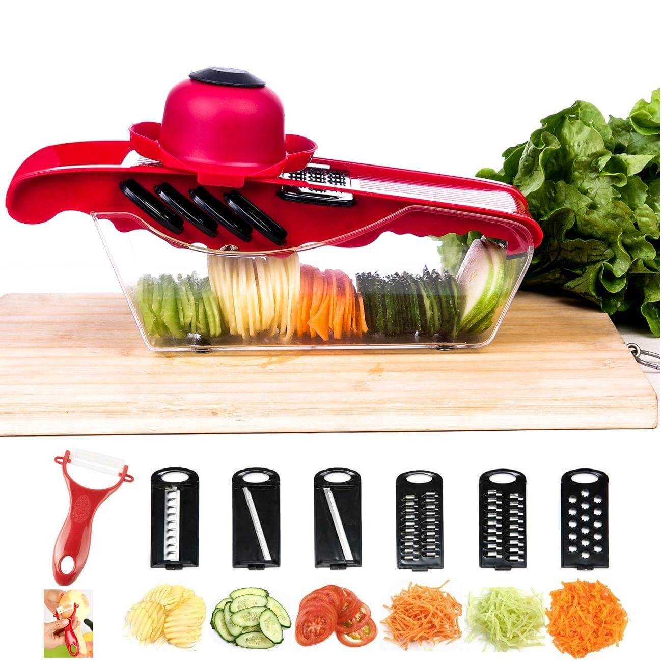 Mandoline Vegetable Slicer Cutter Chopper