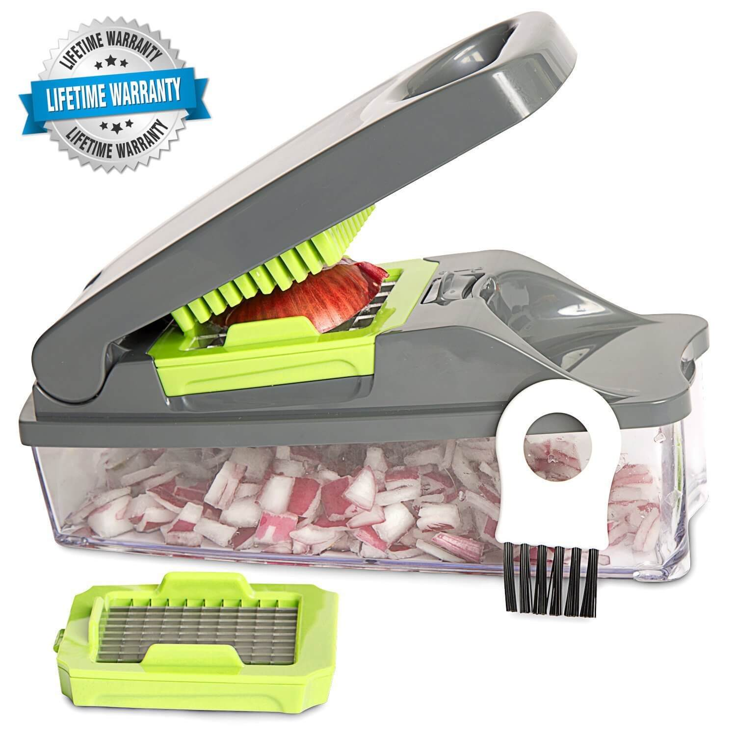 Onion Chopper Pro Vegetable Chopper by Mueller