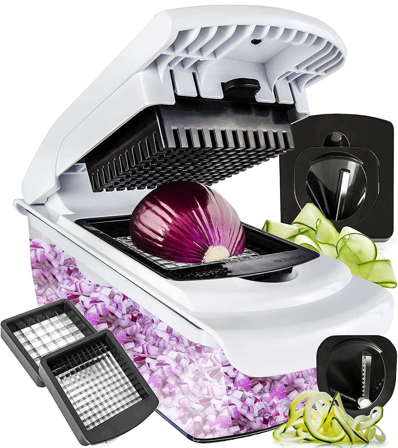 Fullstar Vegetable Chopper Spiralizer Vegetable Slicer