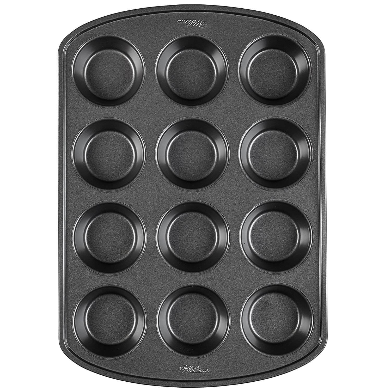 MisterChef® Silicone Mini Linked Square Cake Baking Mould Chocolate Tin Tray Pan