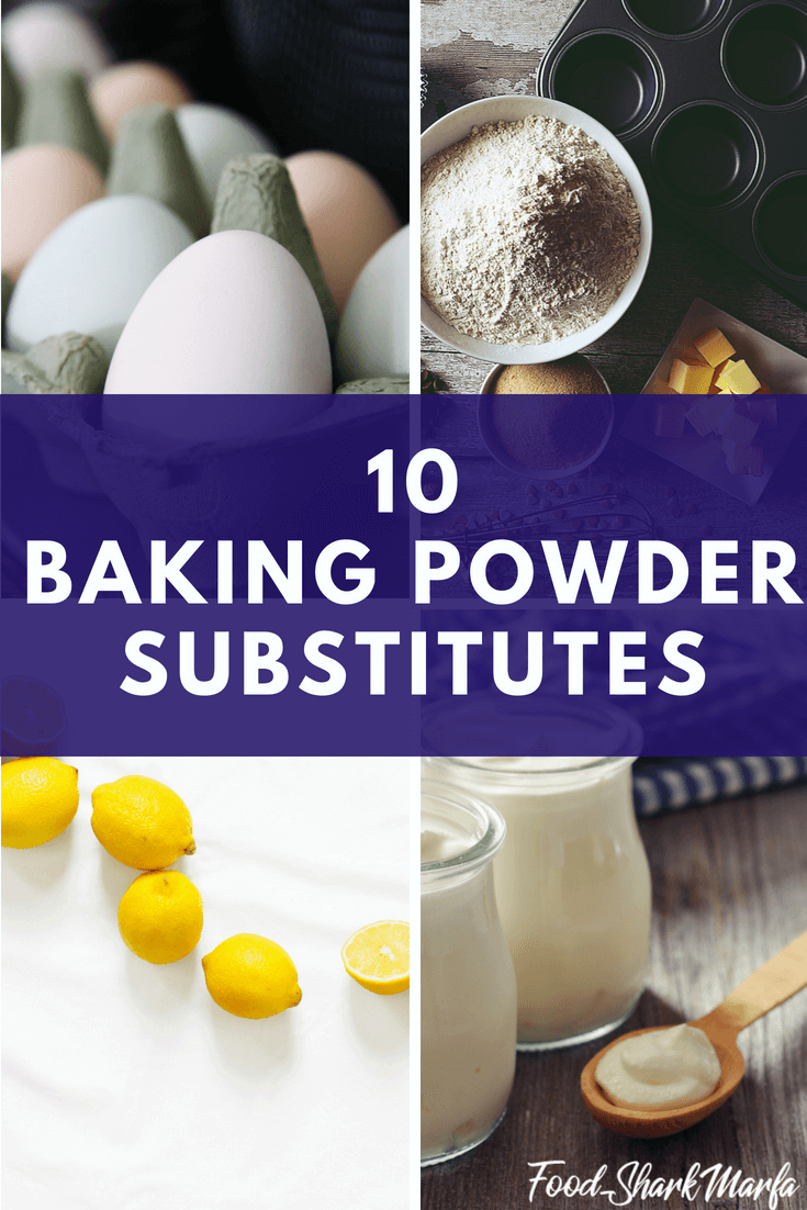 Baking Powder Substitutes pin image
