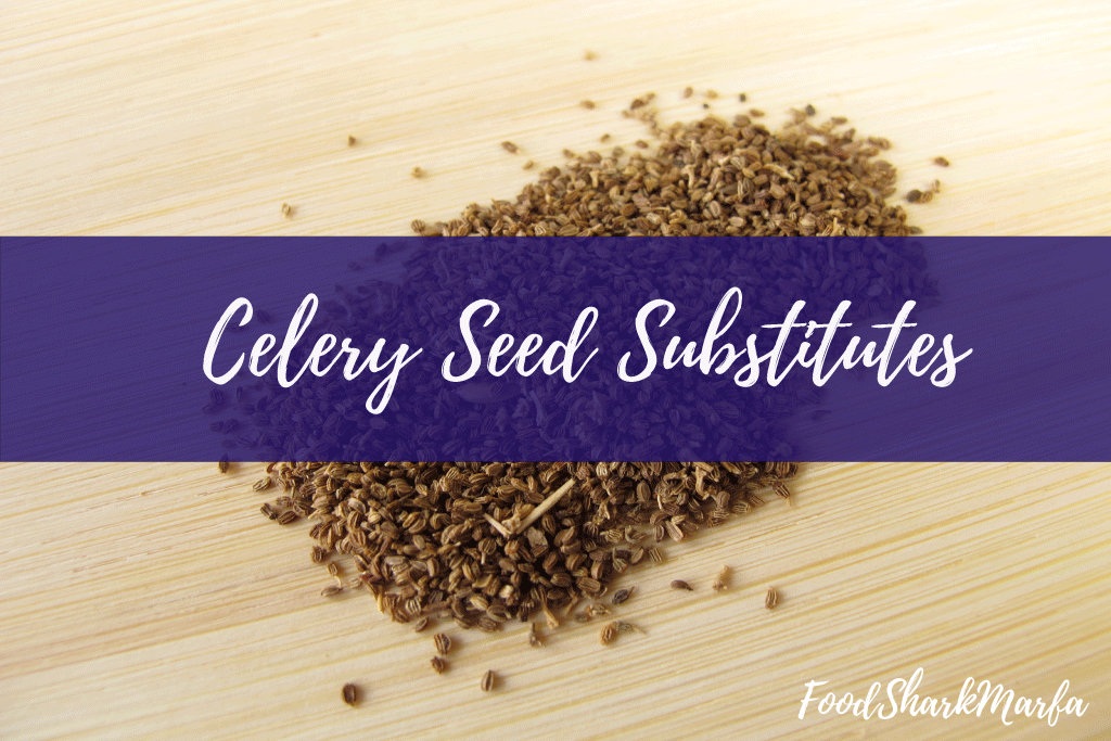 Celery Seed Substitutes
