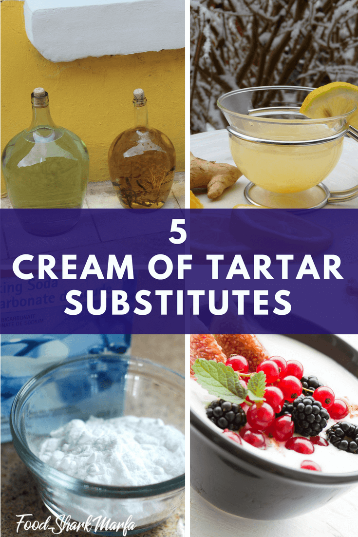 Cream of Tartar Substitutes pin image