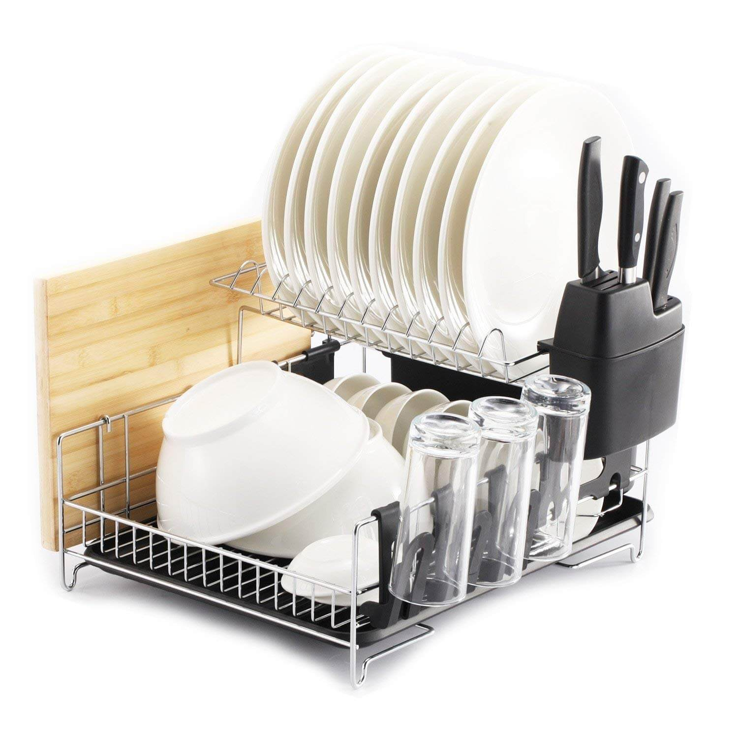 PremiumRacks Professional Dish Rack - 304 Stainless Steel