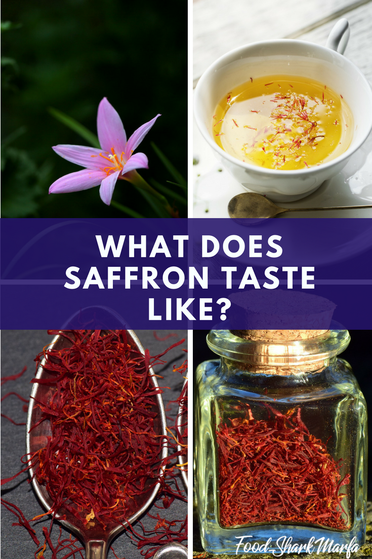 What Does Saffron Taste Like pin image