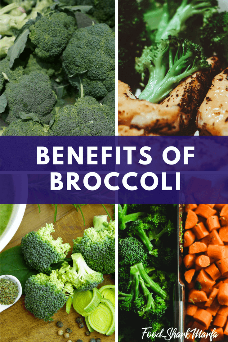 benefits of broccoli pin image