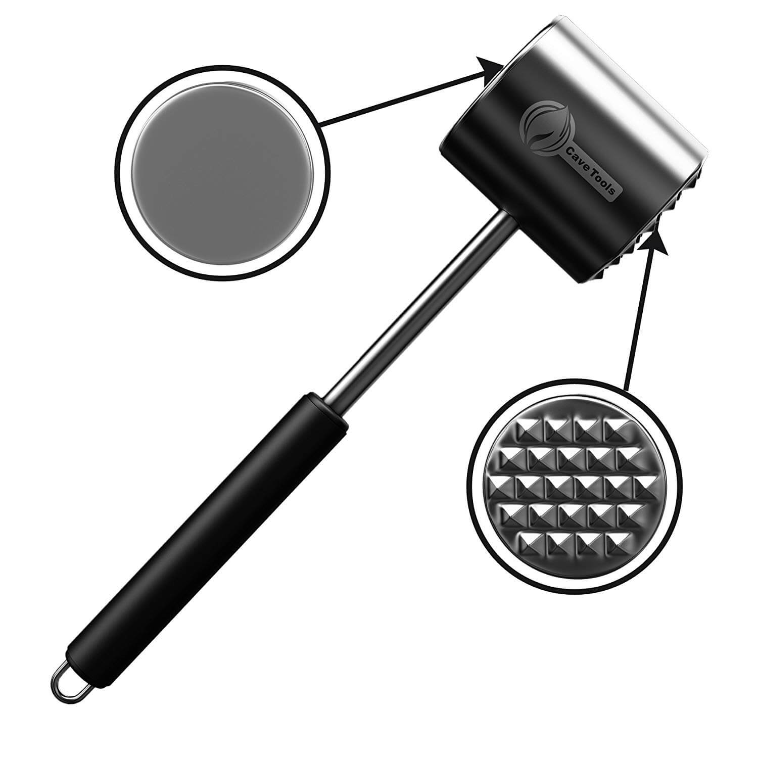 Cave Tools Meat Tenderizer Mallet Tool