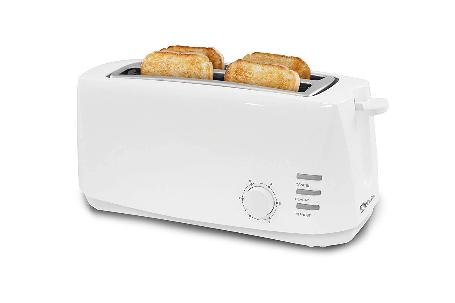 Elite Cuisine ECT-4829 Long Cool Touch Toaster