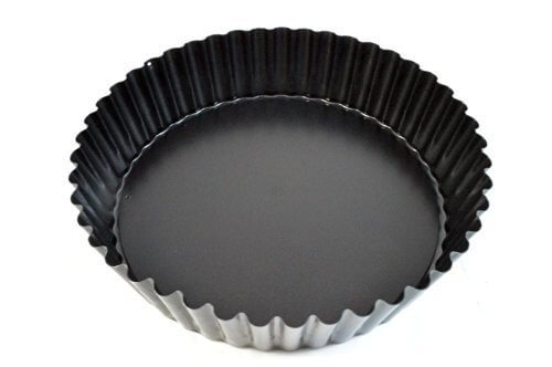 Paderno World Cuisine Deep Fluted Non-Stick Tart Mold