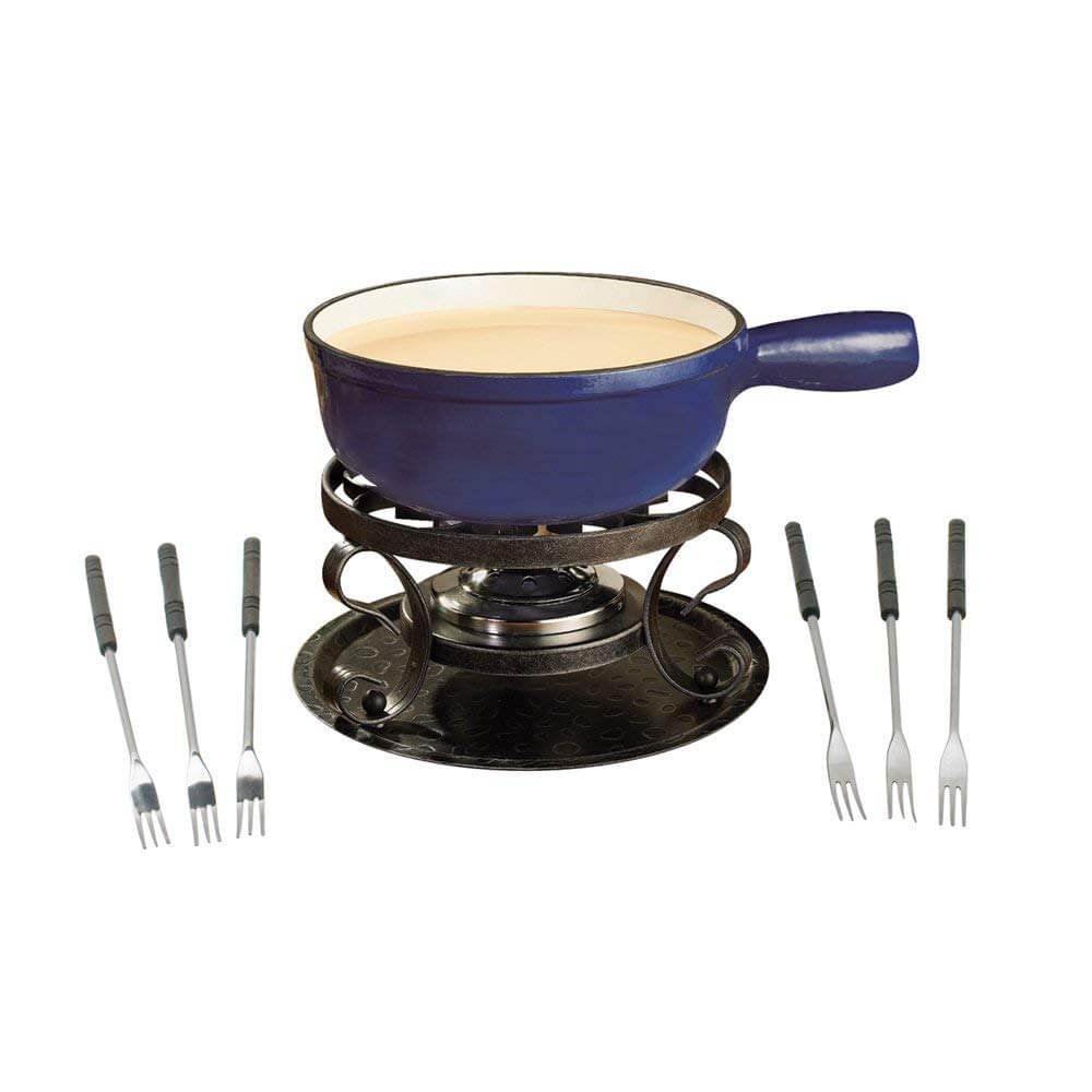 Swissmar KF-66518 cast iron cheese fondue set