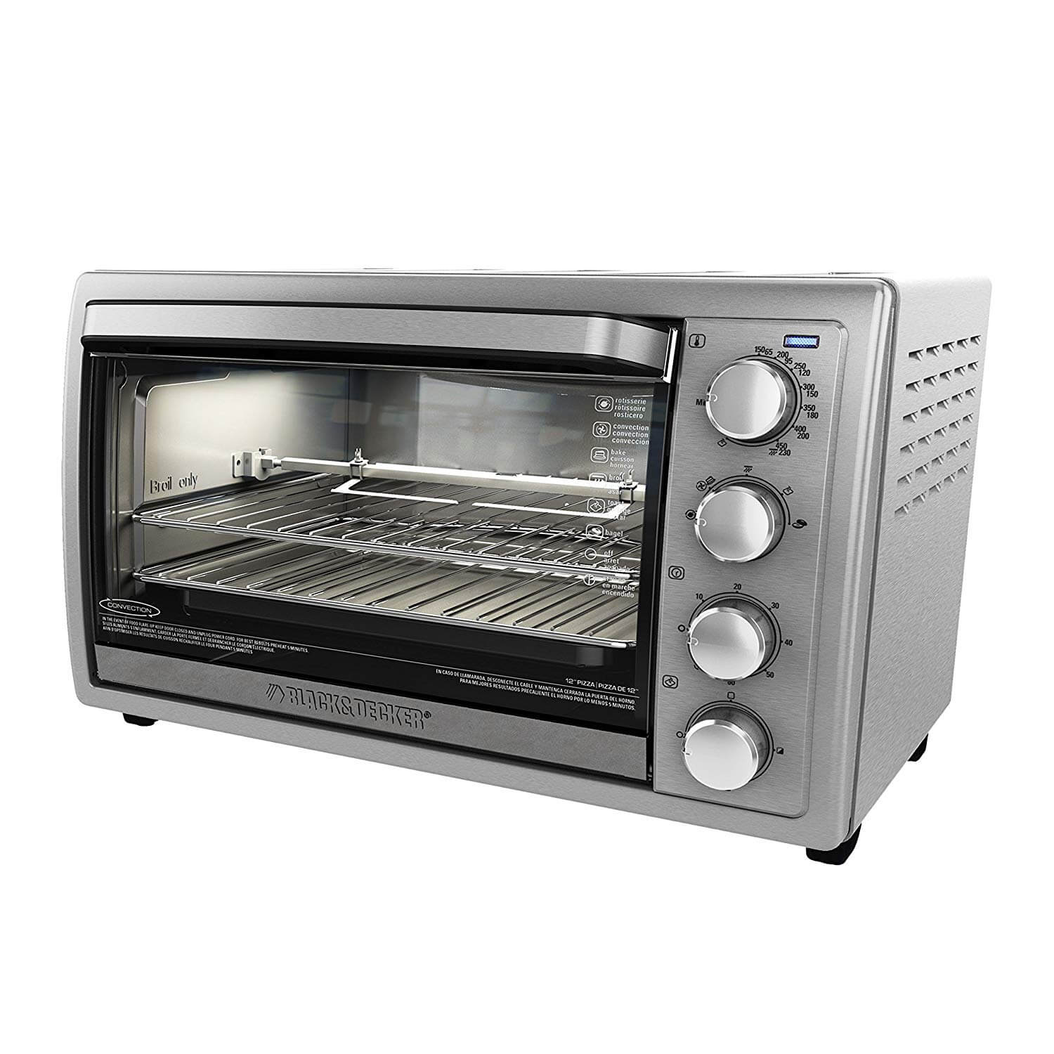 Black and Decker TO4314SSD Rotisserie Toaster Oven