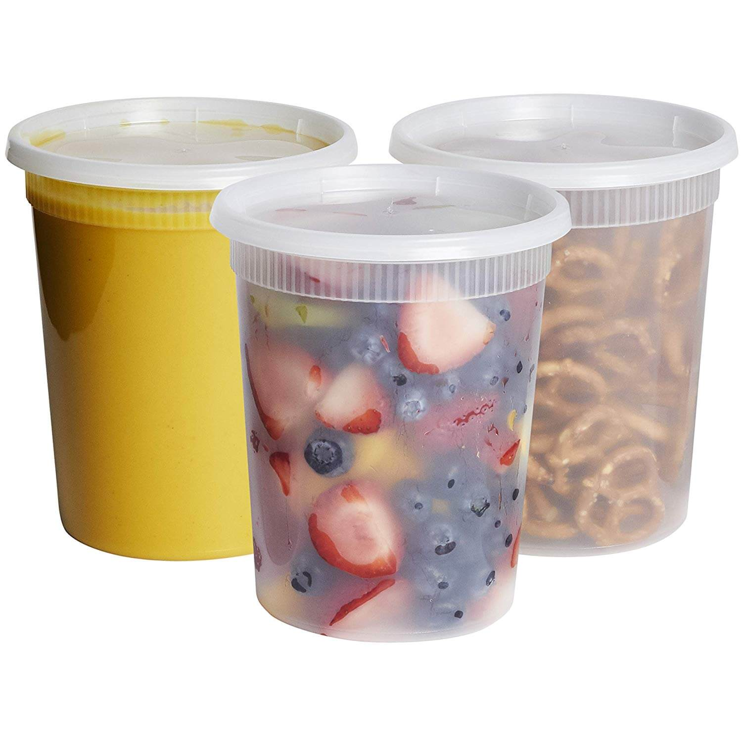 Comfy Package Plastic Food Containers