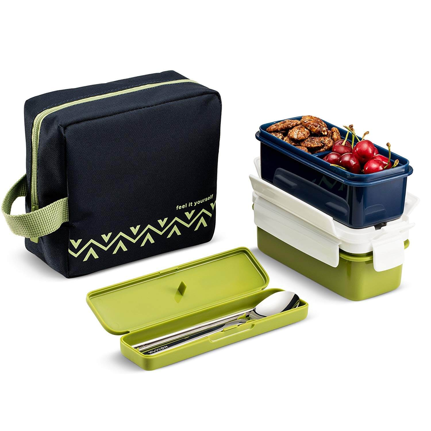 Komax Lunchmate Bento Lunch Box Kit