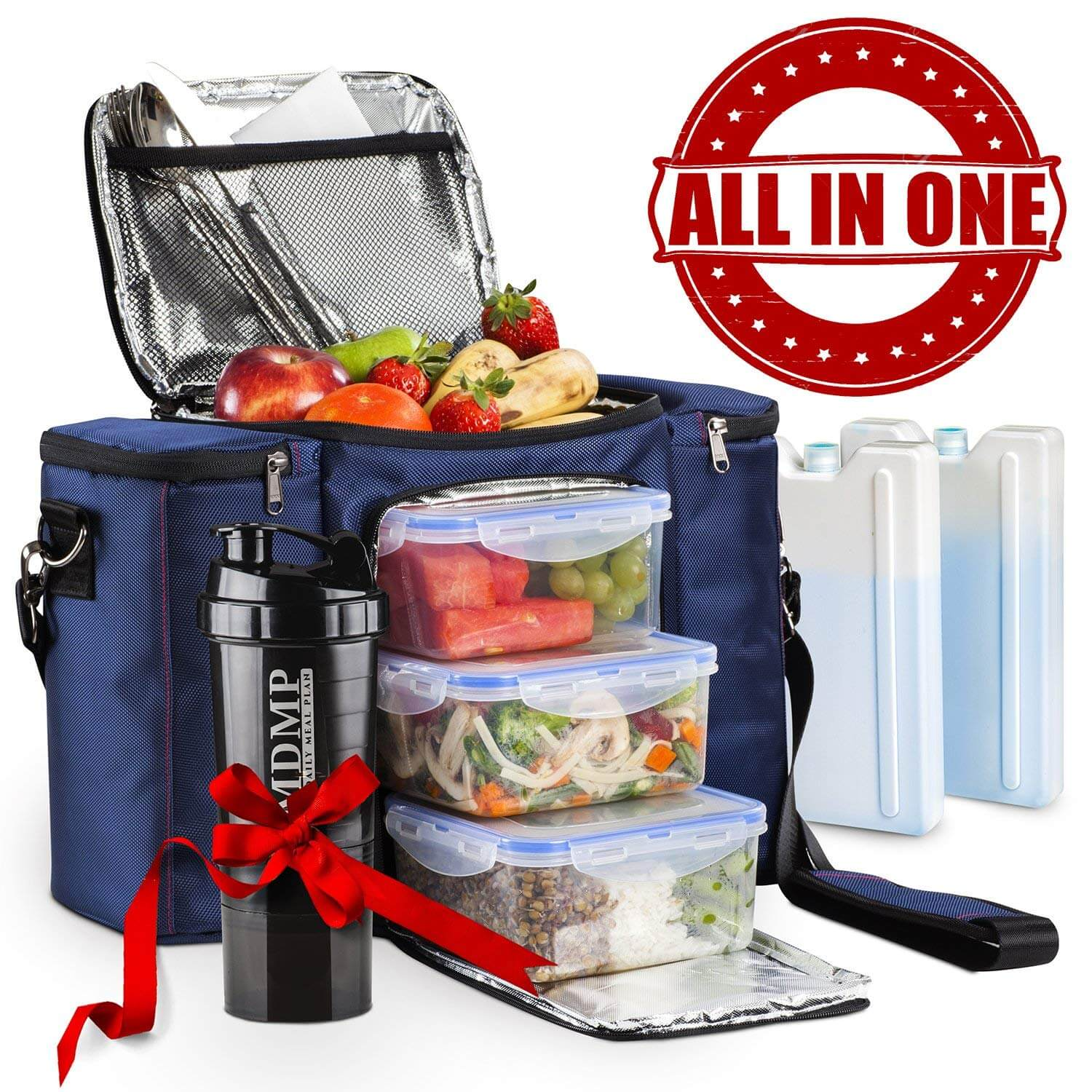 MDMP - My Daily Meal Plan Meal Prep Lunch Bag