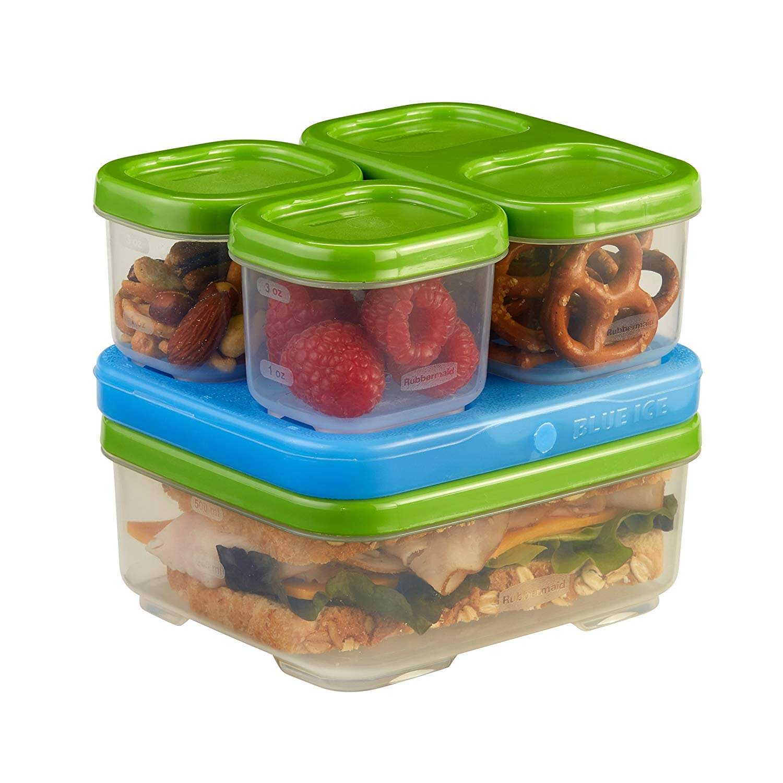 Rubbermaid Lunchblox Sandwich Kit Green 1806231