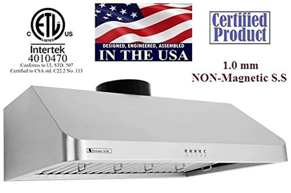 XtremeAir Ultra Series UL10-U30 Range Hood