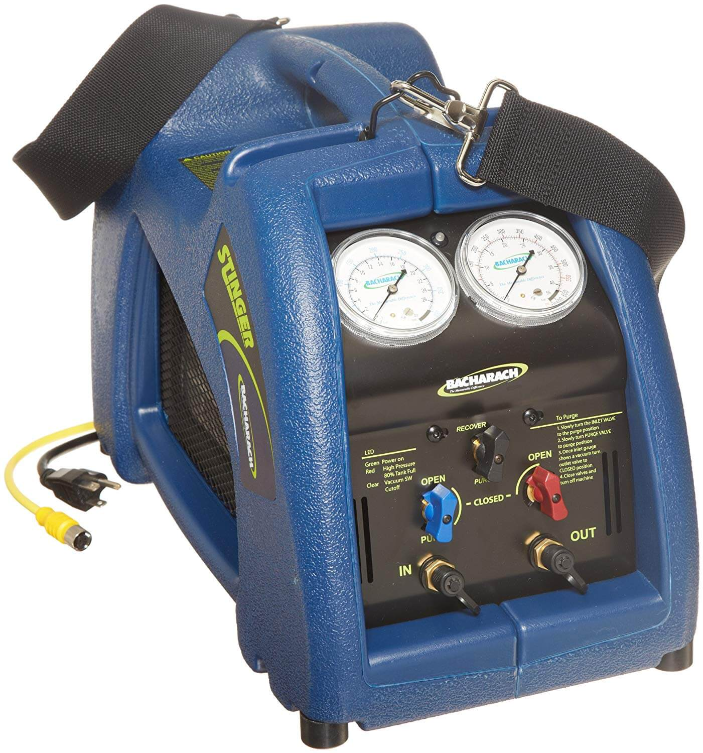 Bacharach Stinger 2006-3801 Refrigerant Recovery Unit