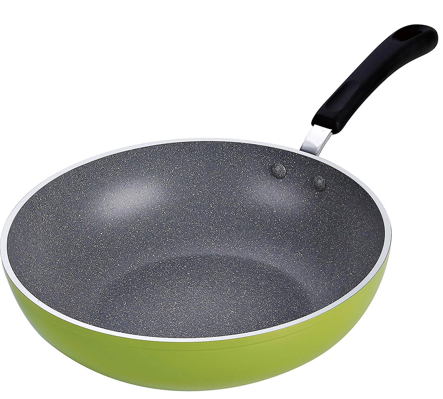 Cook N Home 12-Inch Nonstick Stir Fry Wok Pan