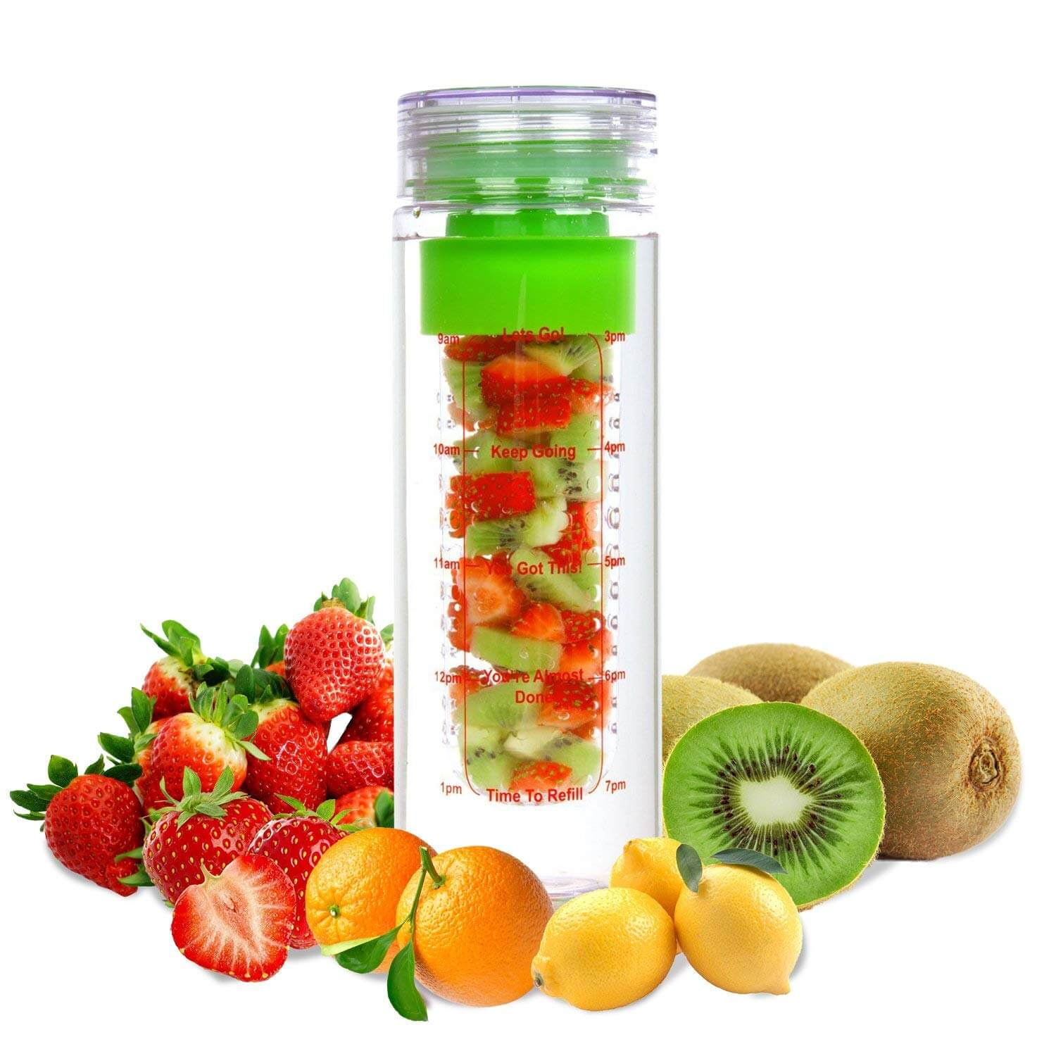 LA Organics Fruit Infuser Water Bottle
