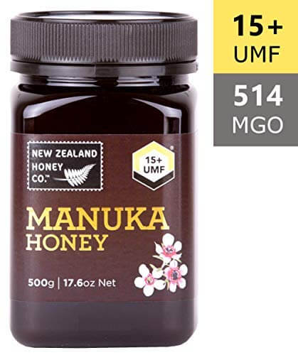 New Zealand Honey Co. Raw Manuka Honey UMF 15+