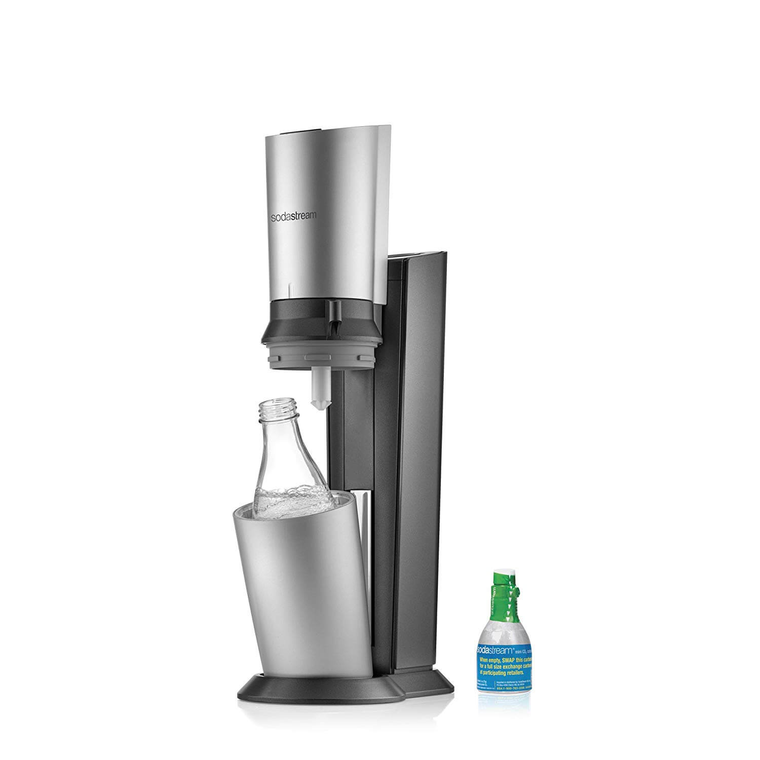 SodaStream Crystal Sparkling Water Maker Starter Kit