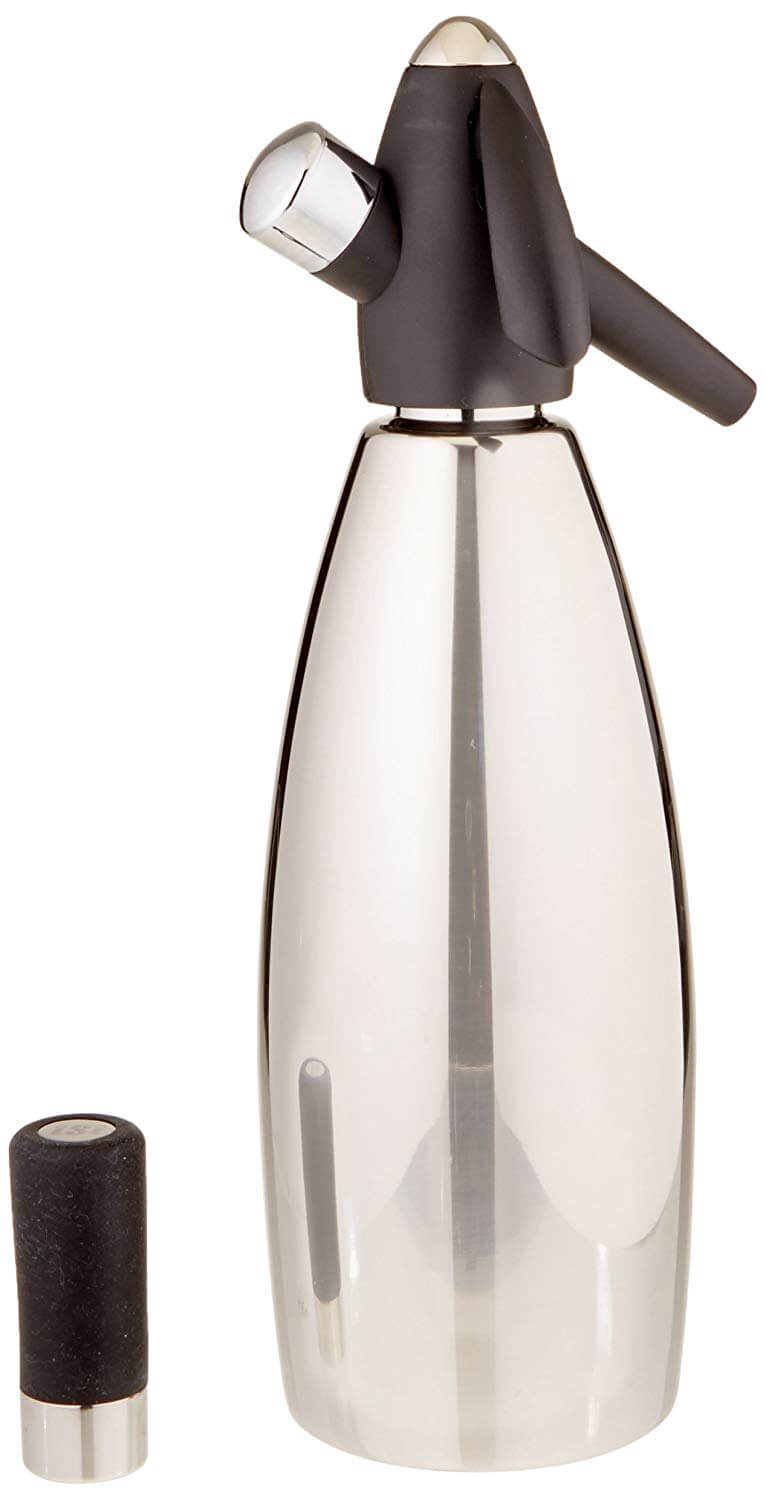 iSi Stainless Steel 1 Quart Soda Siphon Bottle