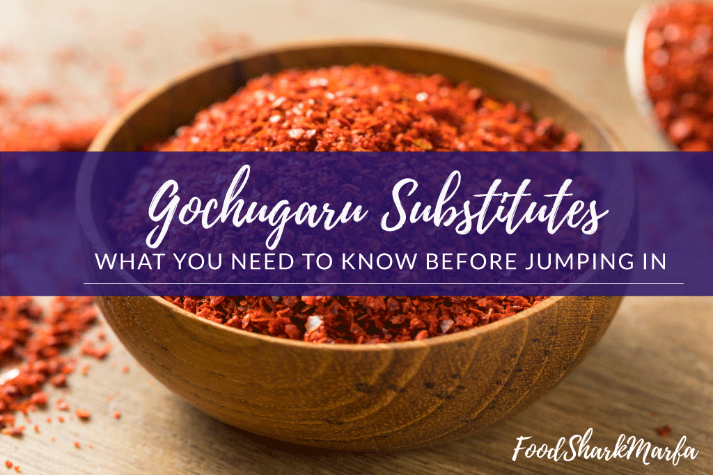 Gochugaru Substitutes