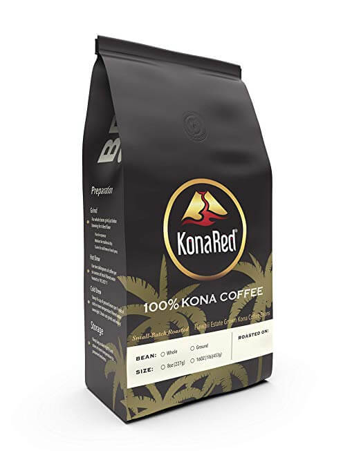 100% Kona Coffee Vienna Roast by Mountain Thunder Coffee Plantation