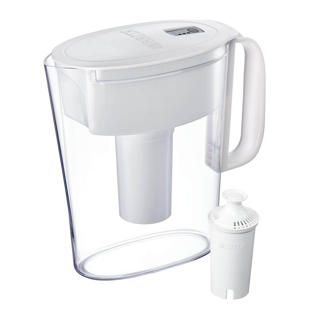 Brita Small 5 Cup Water Filter Pitcher with 1 Standard Filter
