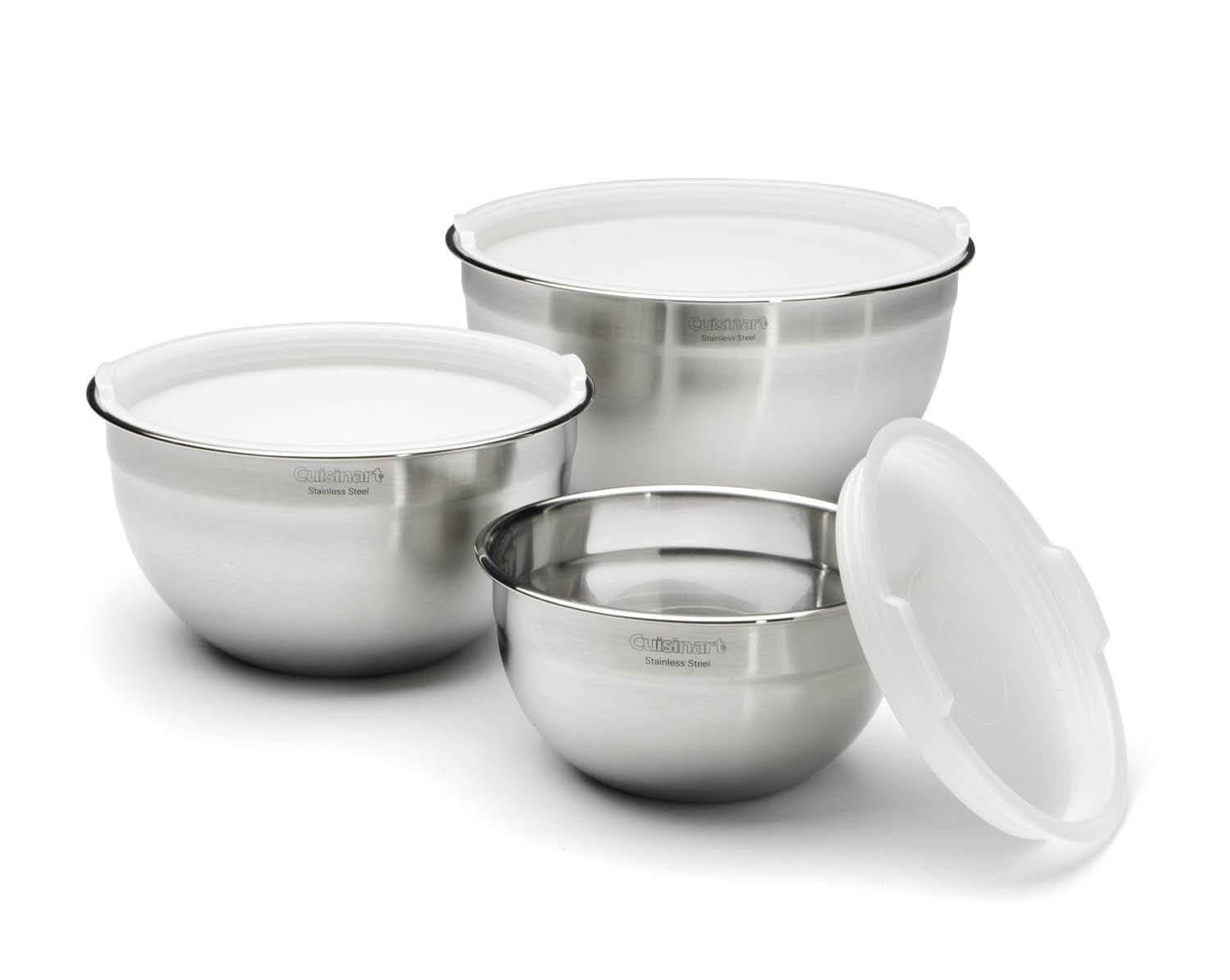 Cuisinart CTG-00-SMB Mixing Bowls with Lids