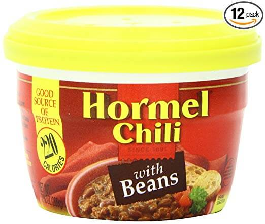 Hormel Micro Cup Chili