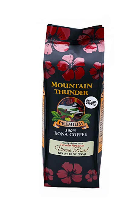 Kona Coffee Cultural Festival's Medium Roast 100 % Kona Coffee & Tea