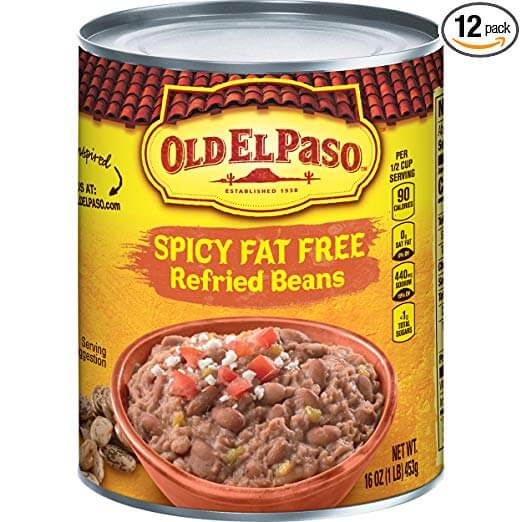 Refried Spicy Beans by Old El Paso