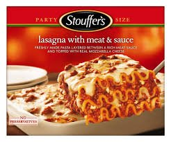 STOUFFERS LASAGNA WITH MEAT SAUCE CLASSICS PASTA FROZEN
