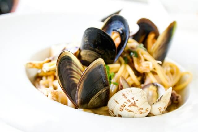 Using mussels as food ingredients