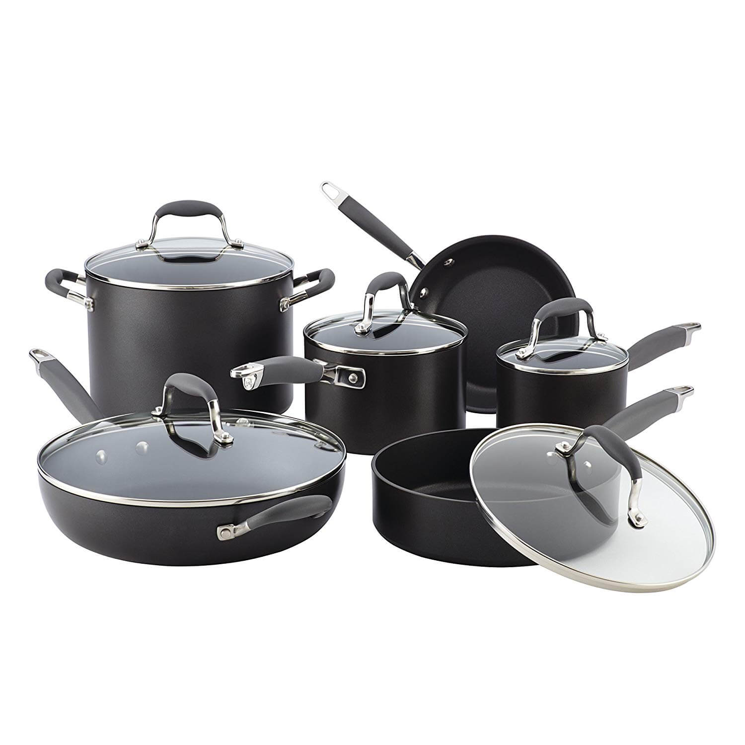 Anolon Advanced Hard Anodized Non-Stick Cookware Set