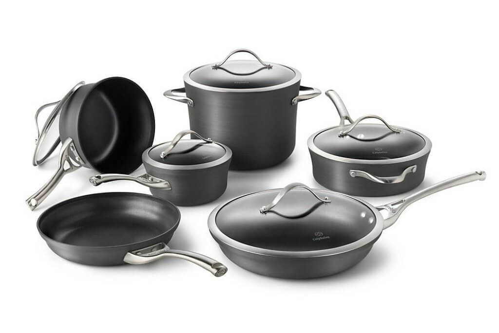 Calphalon Contemporary Non-Stick 11-Piece Cookware Set