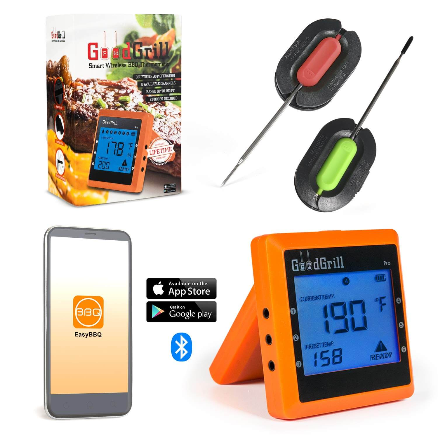 GoodGrill Wireless Meat Thermometer